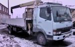 грузовое авто с манипулятором